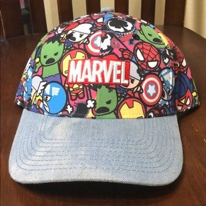 Marvel chibi dad hat baseball cap new cartoon cap